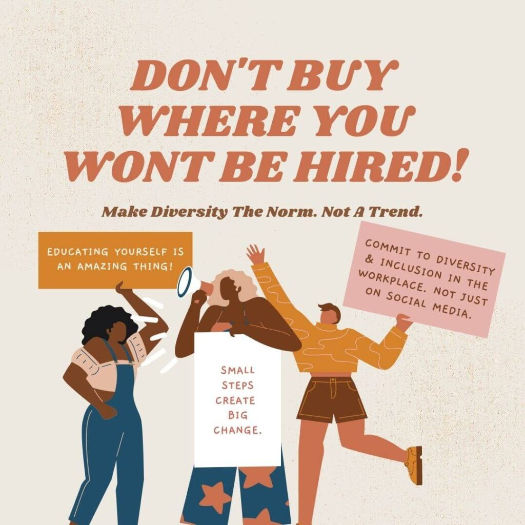 Diversity Consultancy Dont Buy Where You Wont Be Hired