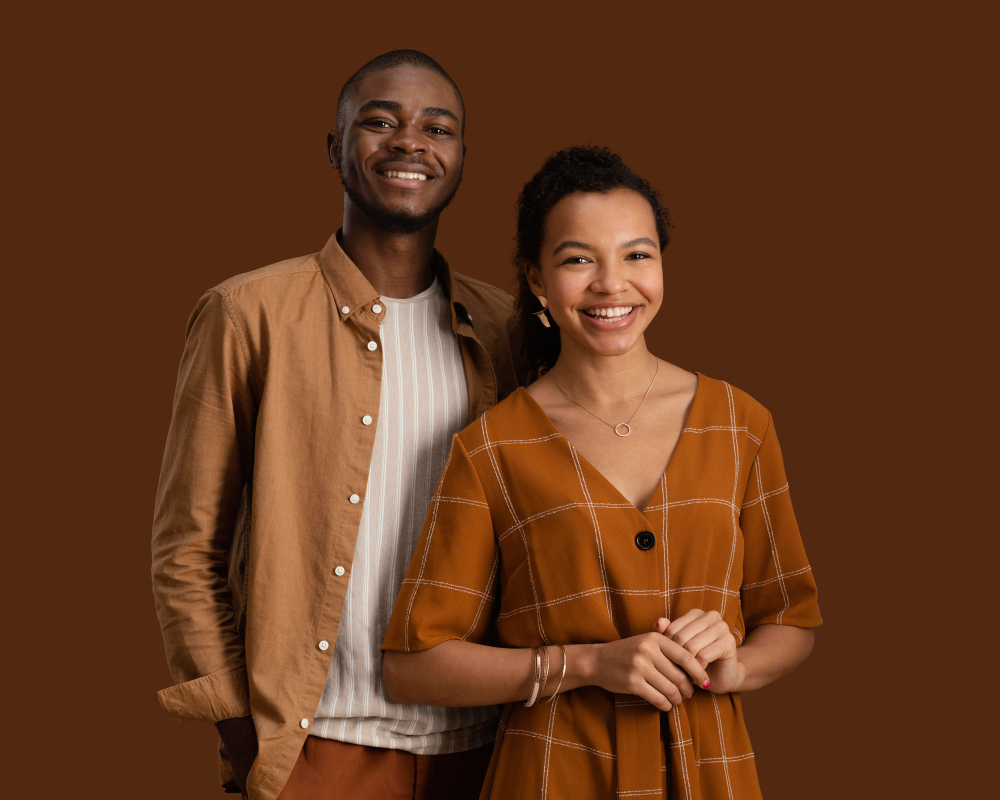 Black people at work smiling race awareness