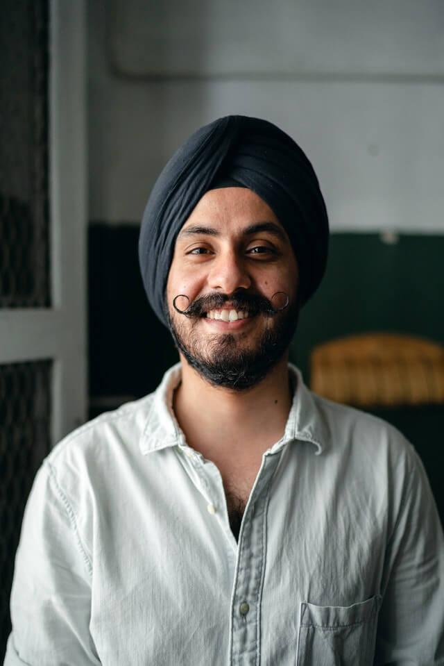Asian Male Smiling Portrait
