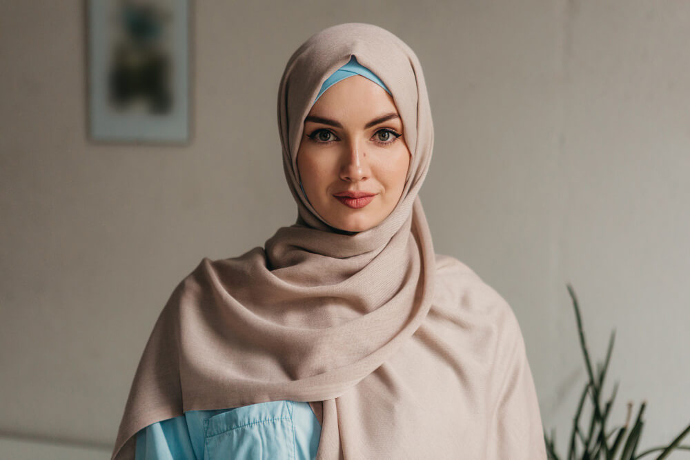 Race Awareness Training Muslim Woman Wearing Hijab